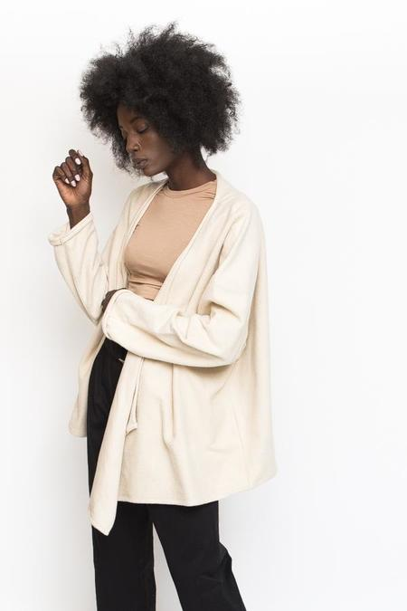Revisited Matters Wrap Jacket - Oat