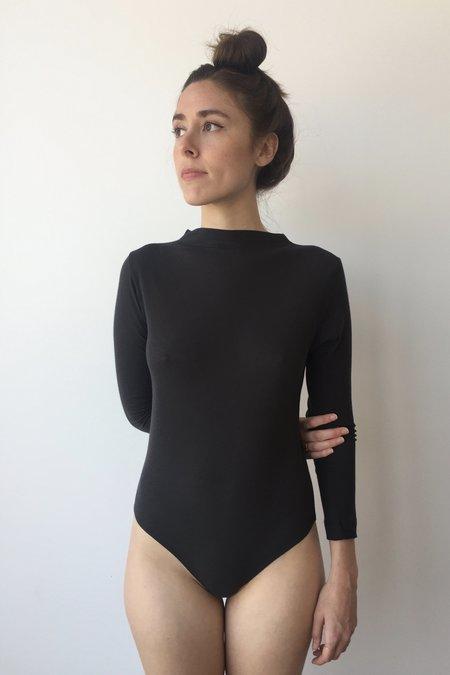 OR Washed Black Bodysuit