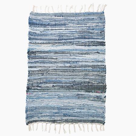 Poketo Blue Shade Denim Rug