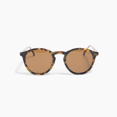 Komono Aston Sunglasses in Tortoise Demi