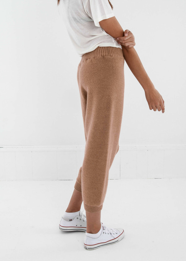 Baserange Tan Gerda Trousers