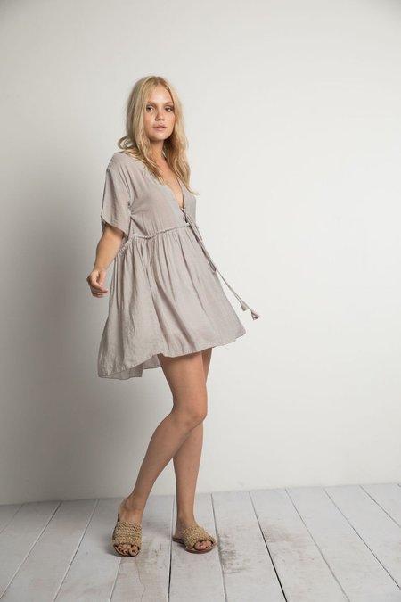 Rue Stiic Phoenix Mini Dress - Grey