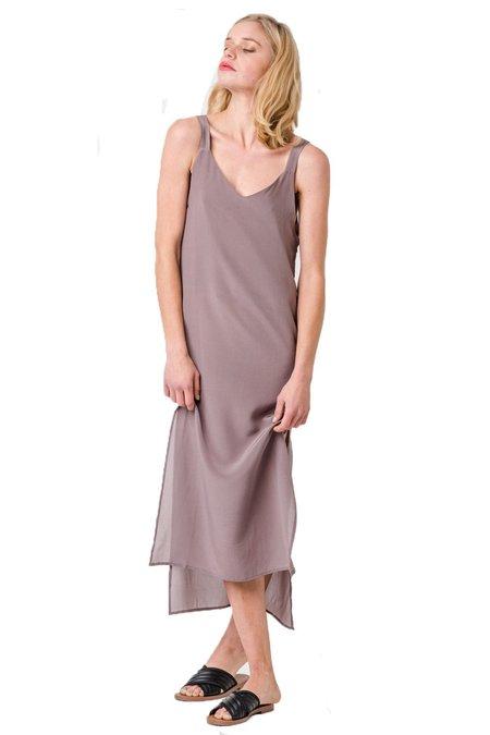 Sample Brand Marseille Silk Slip Dress