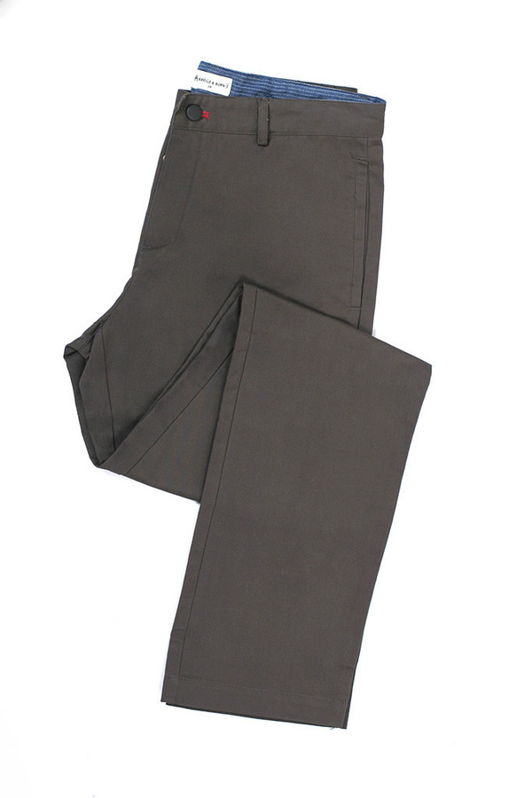 Men's Cotton Twill Roark Charcoal