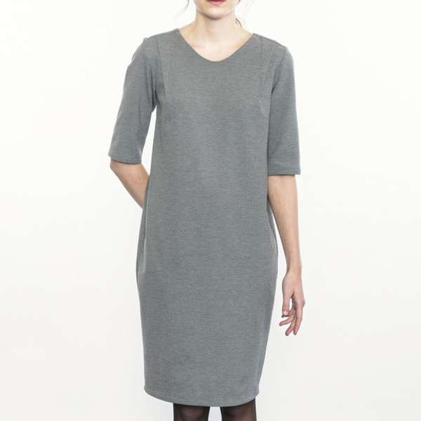 Josiane Perron Gray Dress