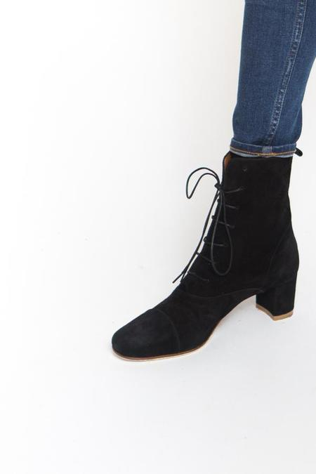 BY FAR Lada Boot - Black Suede