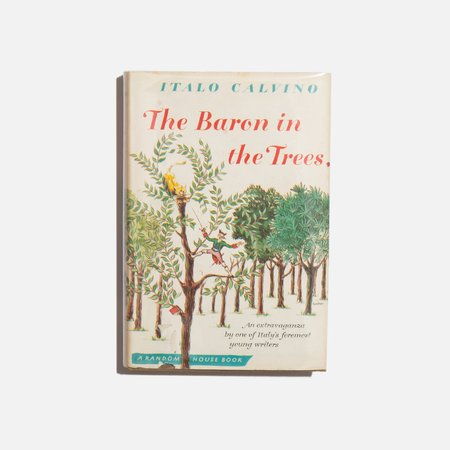Found by Kindred Black The Baron In The Trees - Italvo Calvino