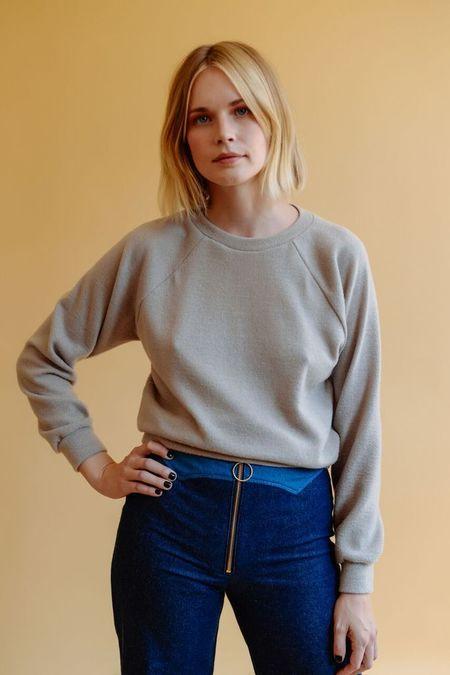 Lykke Wullf Fuzzy Basic Sweatshirt
