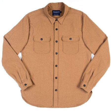 Freenote Cloth Gilroy Shirt—Camel