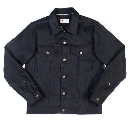Tellason Jean Jacket—13.5 oz Black Selvedge