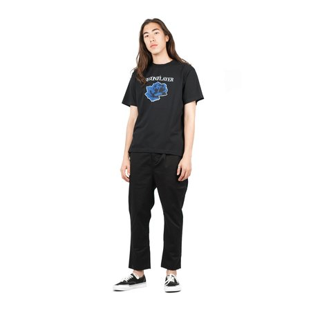 SECOND/LAYER  Disconnected Tour Tee - Black
