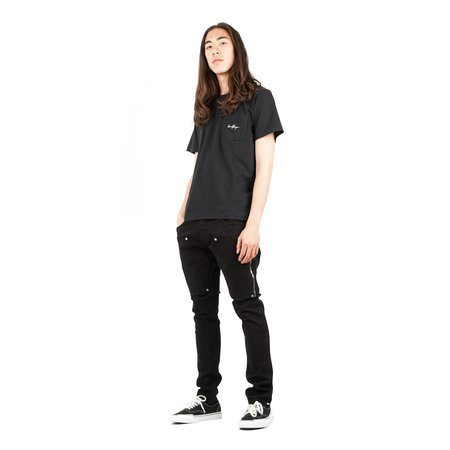 SECOND/LAYER Pocket T-shirt - Black