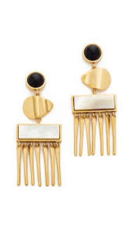 Lizzie Fortunato Con Dao Earrings