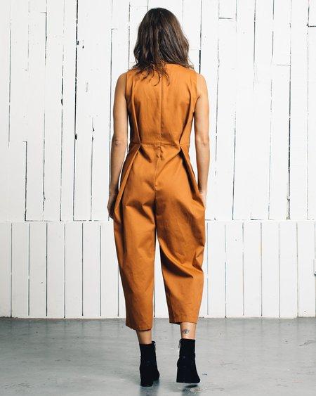 Wolcott : Takemoto Bushi Jumpsuit - Tangerine