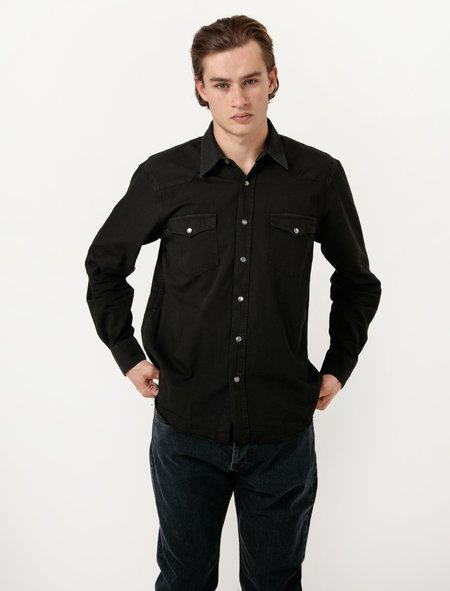 Our Legacy Saloon Shirt - Used Black