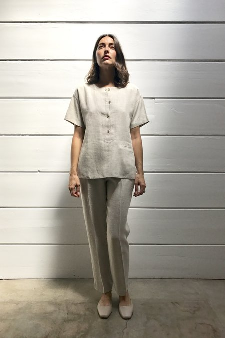 Vintage Linen Popover and Pant Set