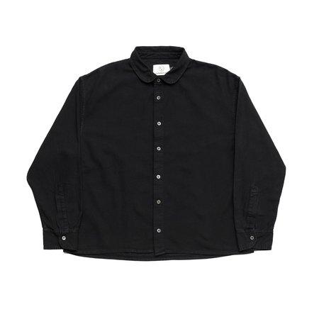 Olderbrother Anti-Fit Shirt - Black Indigo