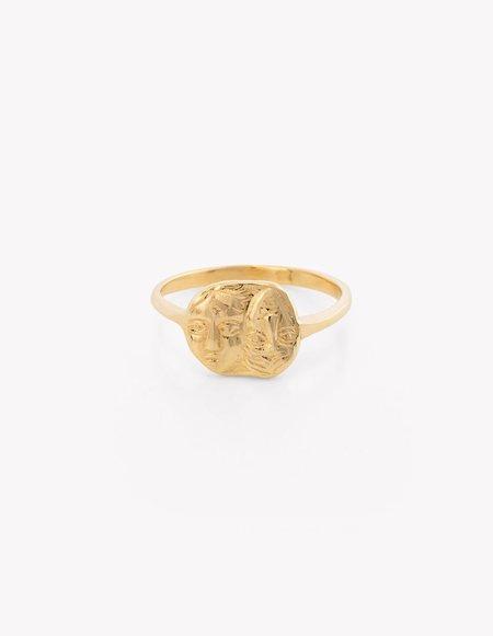 Kathryn Bentley Gemini Coin Ring