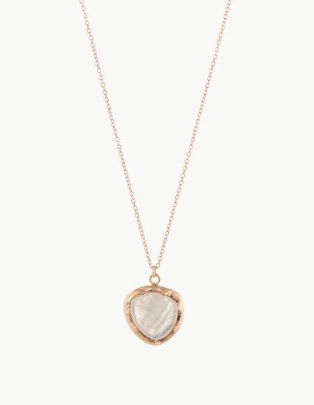 Kathryn Bentley Moonstone Organic Amulet Pendant
