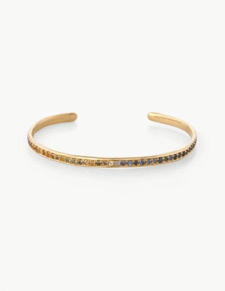 Kathryn Bentley Rainbow Sapphire Bracelet