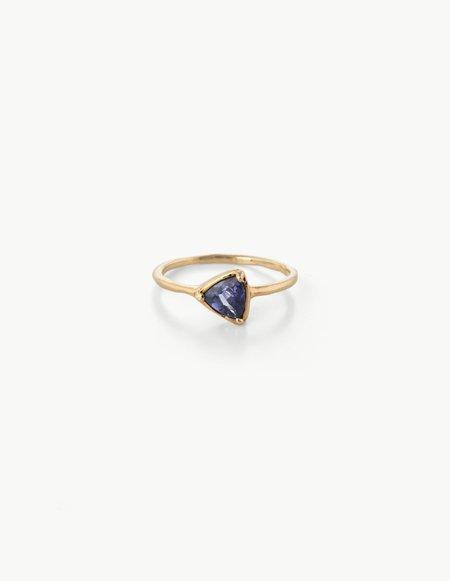 Kathryn Bentley Tanzanite Prism Ring