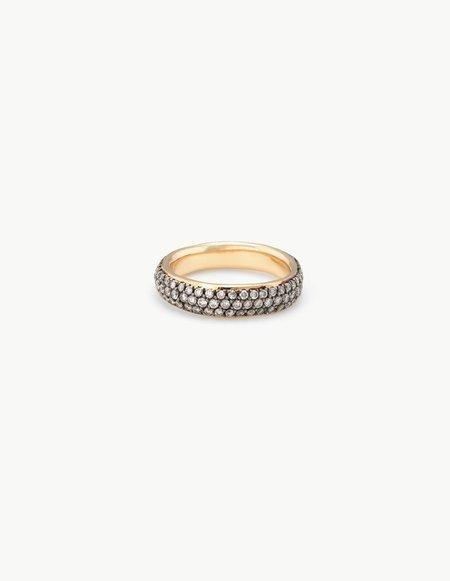 Kathryn Bentley Three Row Diamond Ring