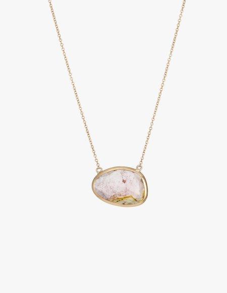 Kathryn Bentley Tourmaline Slice Necklace
