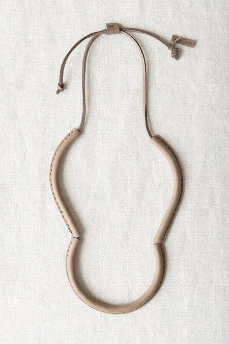 Crescioni Freda Necklace in Pewter