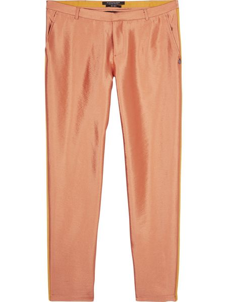 Scotch & Soda Grosgrain Tailored Pants - Desert Rose