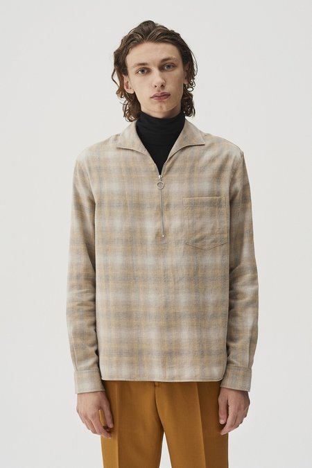 CMMN SWDN Lead Shirt - Faded Check