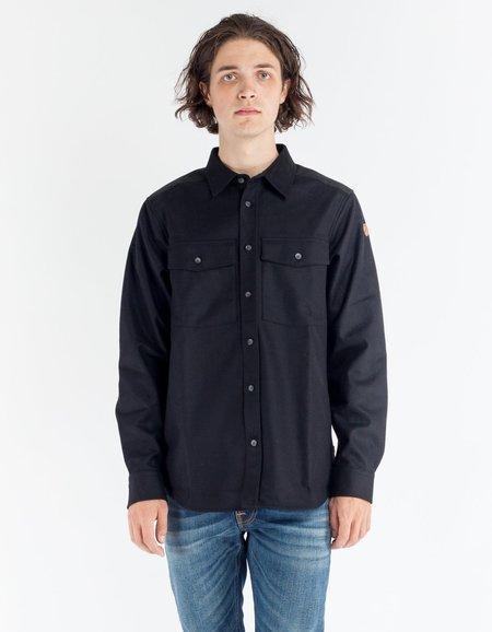 Fjallraven Ovik Re Wool Shirt LS Black