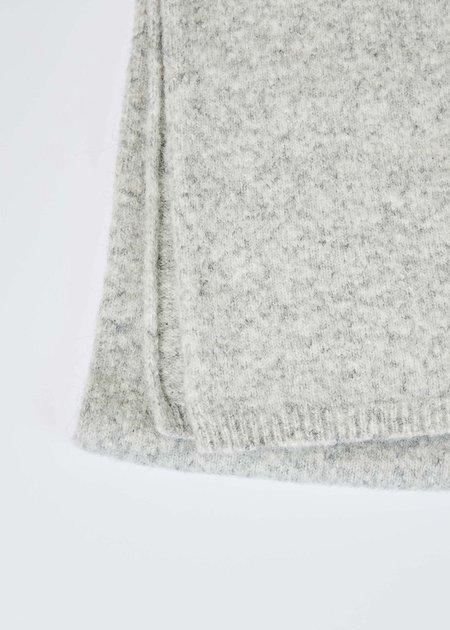 Homecore Alpaca Knit Scarf - Heather Grey