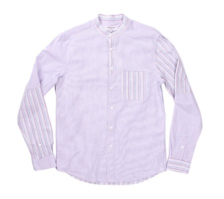 YMC Bootboy Band Collar Shirt