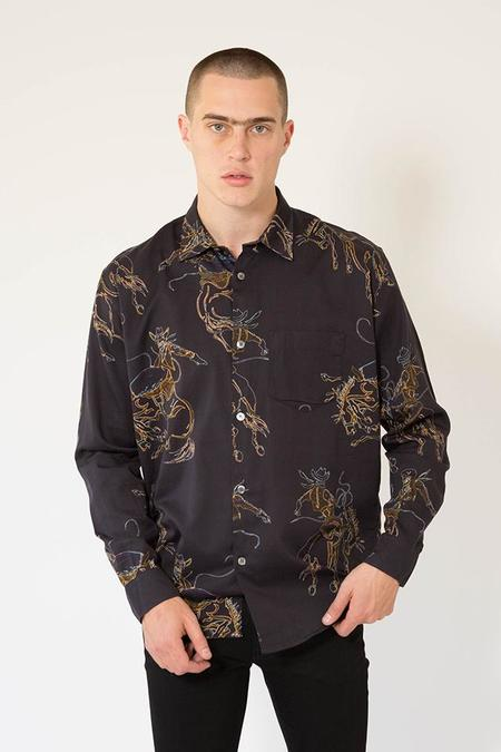Our Legacy Initial Shirt - Rodeo Black Print