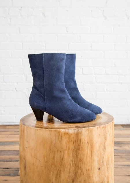 Intentionally Blank Belle Boot - Blue Suede