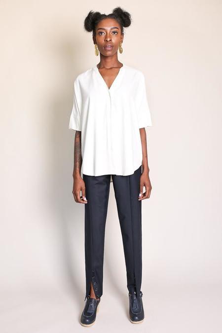 Steven Alan Draft Shirt in Ivory