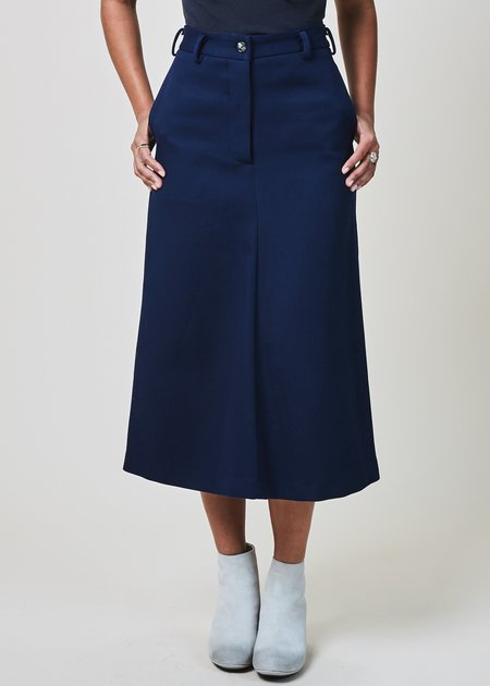 A Détacher Stuart Gabardine Skirt