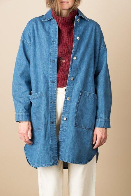 Kowtow Fortune Jacket In Denim