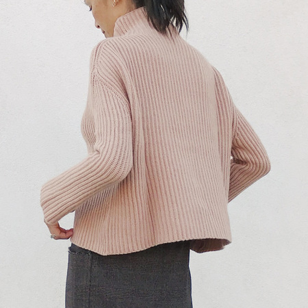 Ryan Roche Ribbed Oversized Sweater
