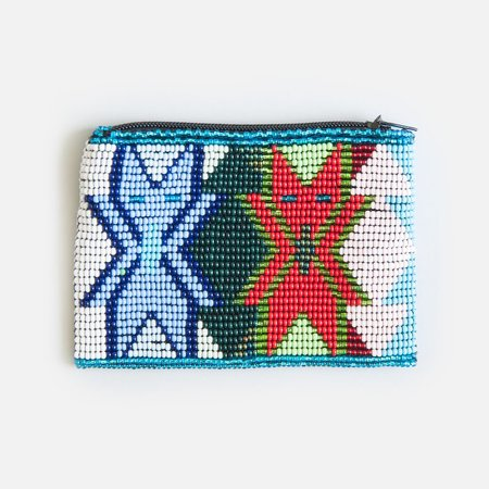 Someware Twinning Beaded Coin Purse
