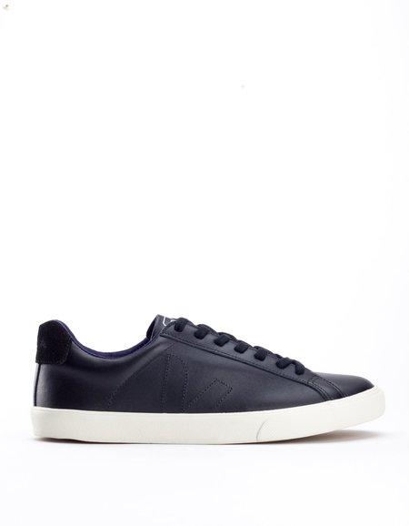 Veja Esplar Low Leather Sneaker Black Pierre