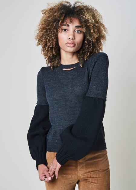A Détacher Calhoun Knit Sleeve Sweater