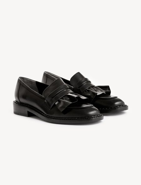 Robert Clergerie Joux Ruffle Loafer