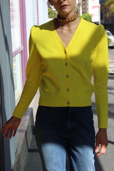 A Détacher Catriona Cardigan - Yellow