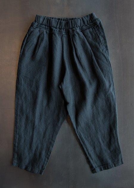Kid's Black Crane Mini Carpenter Pants - Black