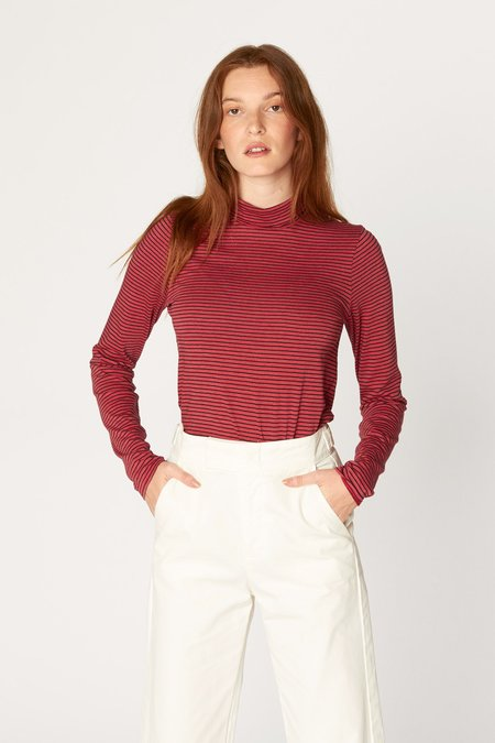 Lacausa Striped Turtleneck