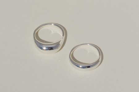 Mondo Mondo Cafe Ring Set - Silver