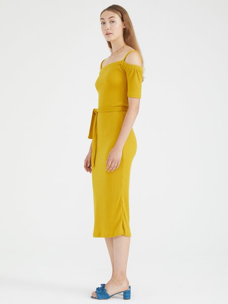 Samantha Pleet Capulet Dress / Gold