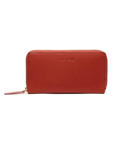 The Stowe Zip Wallet - Paprika