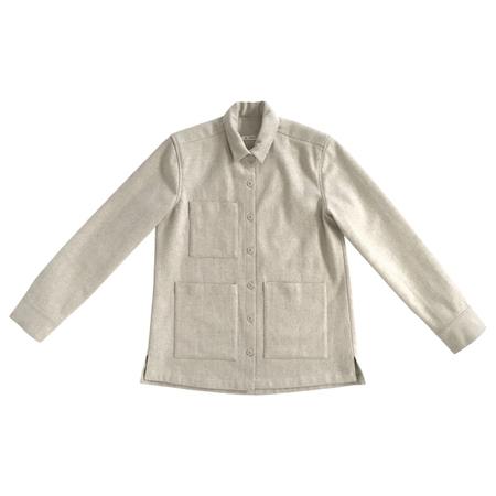Ali Golden Wool Chore Coat